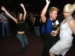 Madonna Fans Frolic at The Phoenix (Roger Cullman) Tags: party toronto fun fan dancing madonna nightlife fans handsup thephoenix handsintheair thephoenixconcerttheatre cantstopesther photorogercullmanallrightsreserved