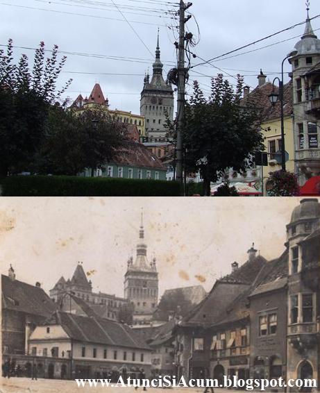 Sighisoara - Piata Hermann Oberth
