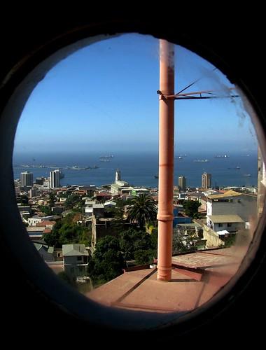 Chile - Valparaiso - Ventana Puerto 3
