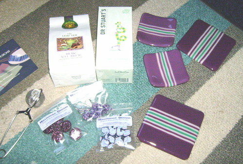 Time for Tea swap parcel