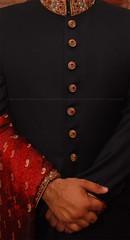 Groom: Wedding Sherwani (Ameer Hamza) Tags: wedding classic wonderful dress wed karachi hamza shadi khi ppo ppc ameer sherwan kpc ppa pkk rajaislam amiradnan tanzeemdesigner karachifashionscene pakistanfashionscene ameerhamzawedding