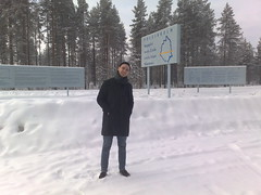 Me at the arctic circle