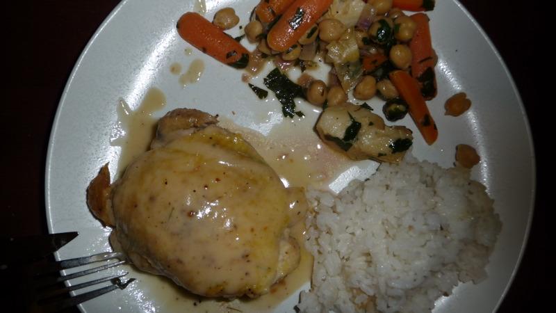 5-piece chicken dinner