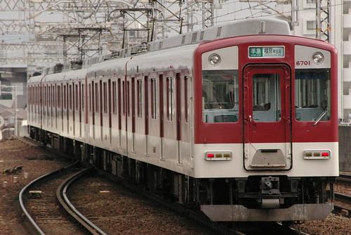 Kintetsu6600series in Imagawa,Osaka,Osaka,Japan 2009/4/2