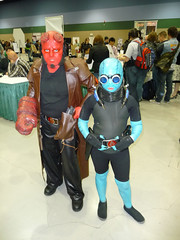 Hellboy Junior and Little Abe Sapien