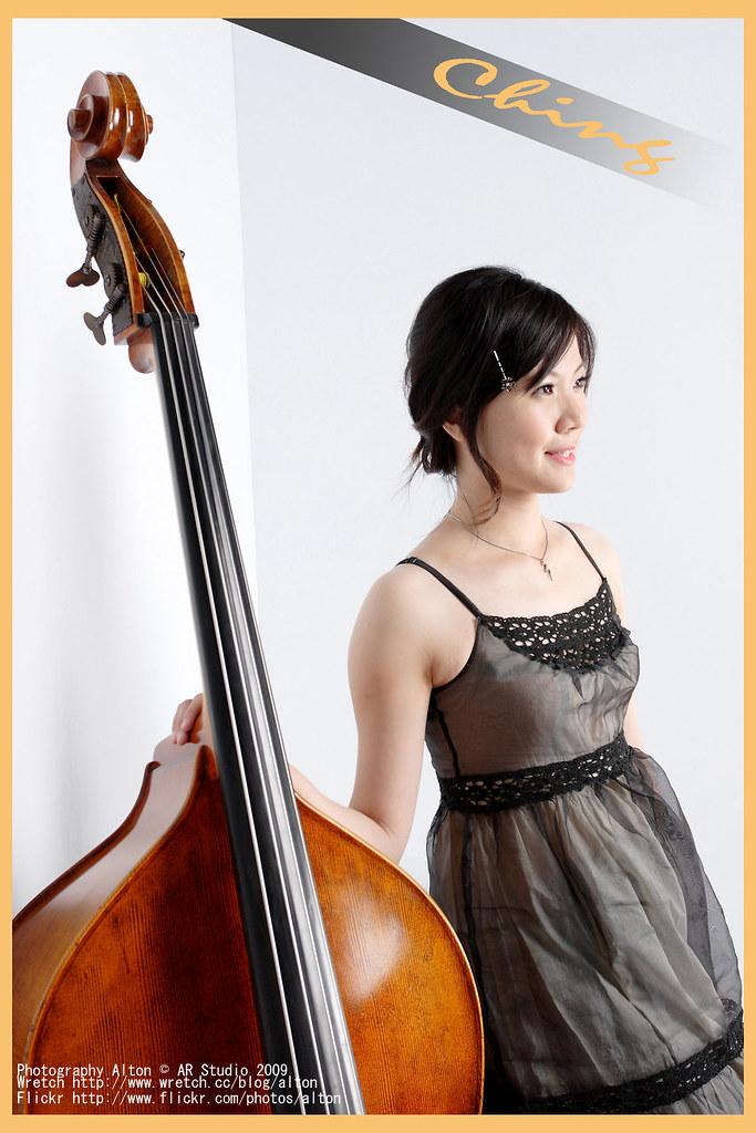 雅晴的低音大提琴