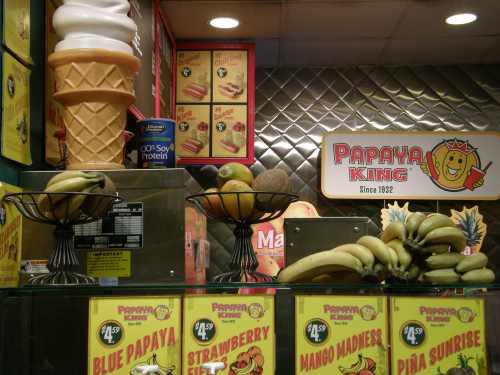 papaya king store