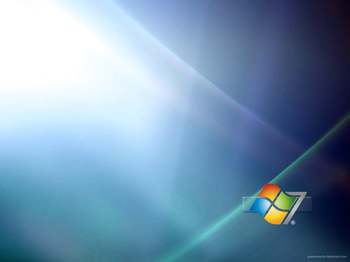 Windows 7 Wallpaper by QuantumEcho.