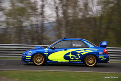 Subaru (simons.jasper) Tags: road beautiful car racecar blauw jasper sony fast special subaru circuit simons a100 digest duitsland supercars nurburg autogespot spotswagens