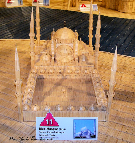Blue Mosque toothpicks