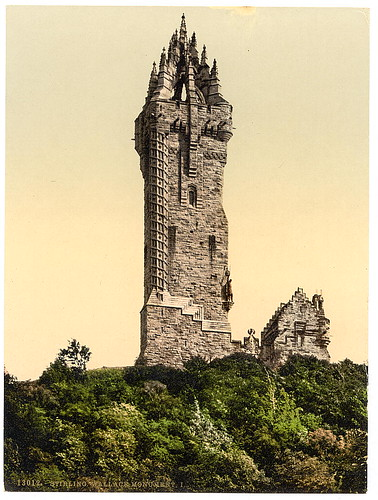 [Wallace Statue I, Stirling, Scotland] (LOC)