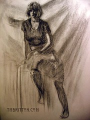 Charcoal Figure Drawing 042009-1