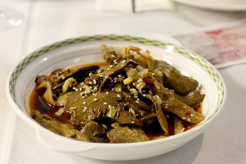 Beef & Ox Tripe in Chilli Sauce