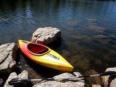 2009/365/116 Kayaking Willow Springs Lake