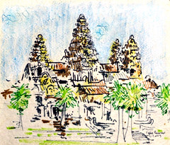 Sketch of Angkor Wat