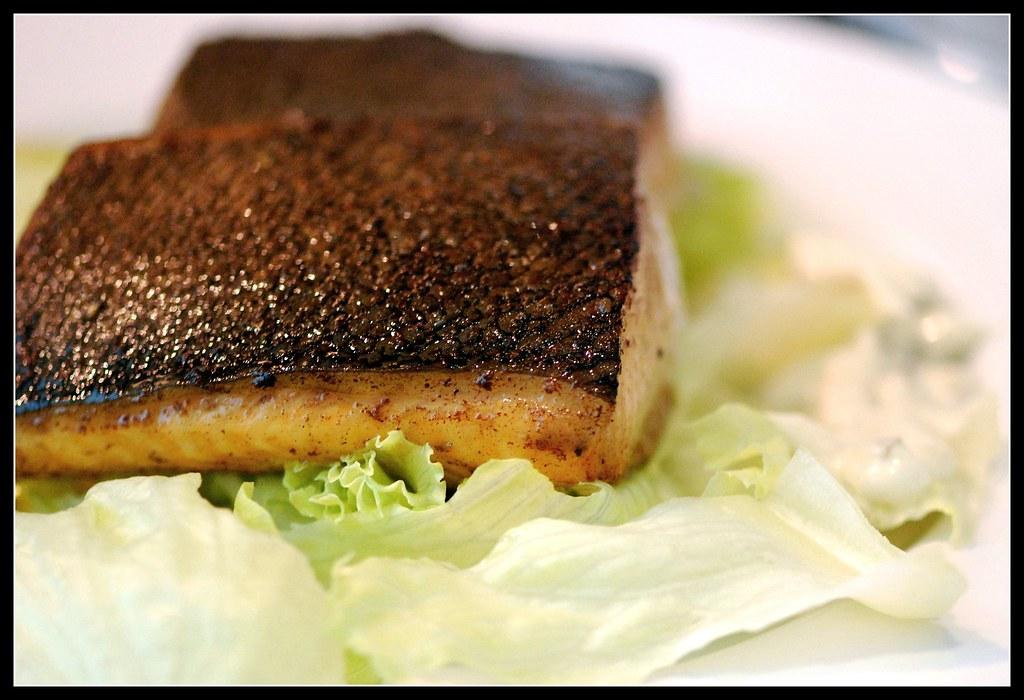 Crispy Skin Grill Salmon