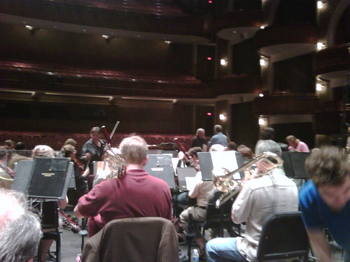 Verdi dress rehearsal