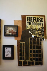 Refuse to Occupy (PaulBarronDesign) Tags: california ca rose shop tattoo paul berkeley gallery pb solo sacred barron sr2