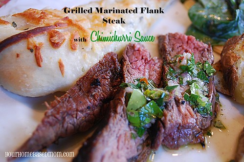 grilled marinated flank stea - Page 295