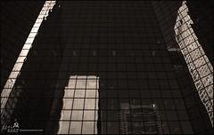calgary towers (BCOL CCCP) Tags: sky white canada black reflection calgary art photo fantastic good towers taken well alberta cccp 2010 blackwhitephotos bcol