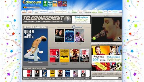De la VOD chez CDiscount : Concerts et Films