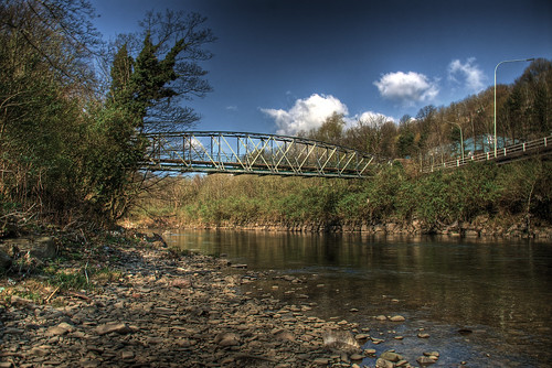 The Abercynon Iron Works Bridge, Pontypridd