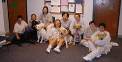 Prison group with dogs 2006