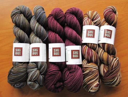 Shibui sock yarn