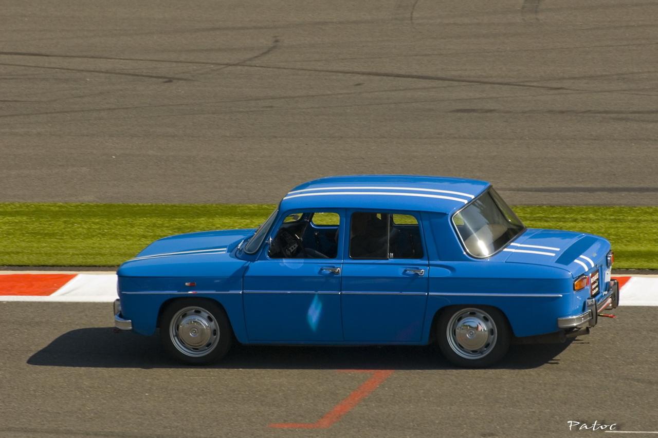 Renault R8 Gordini Bleue