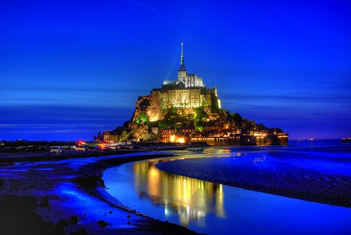 Le Mont Saint Michel By Night - HDR
