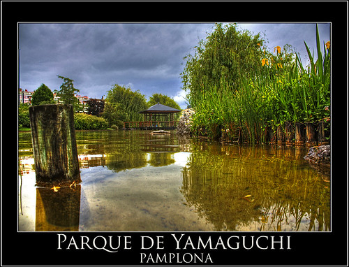 Parque de Yamaguchi (PAMPLONA) por FERMIN AHECHU ALBENIZ.