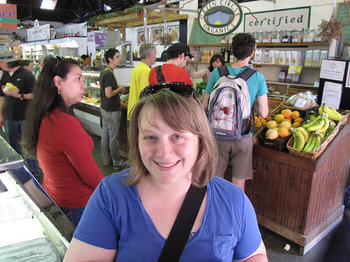 Marisa in Central Market