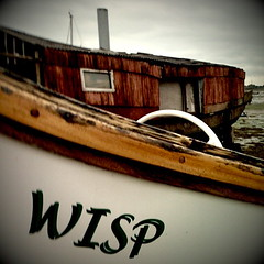 The Wisp (Claire_Sambrook) Tags: old sea beach apple boat rust marine angle harbour hampshire portsmouth helga seafront shipping camerabag wisp southsea iphone langstone eastney clairesambrook welshphotographer createup clairesambrookphotographer