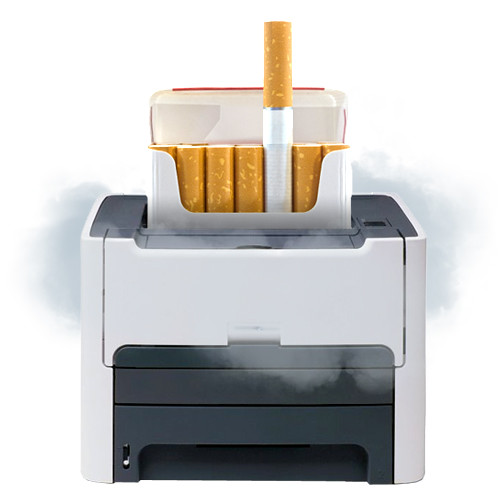 WTF - Are Printers As Hazardous To Your Health As Cigarettes? 1