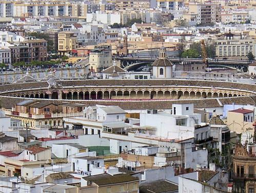 Bullring Seville, Spain