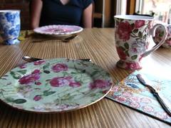Sunday tea party @ Nectar (Vincci T) Tags: flowers food calgary dessert restaurant depthoffield nectar paintshoppro psp8 teaparty