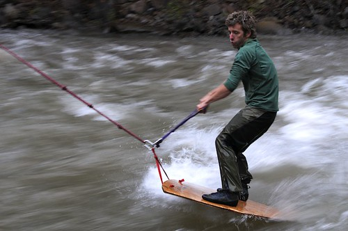 Timmy O'Neill, Creek Surfing