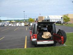Camping out at Wal-Mart