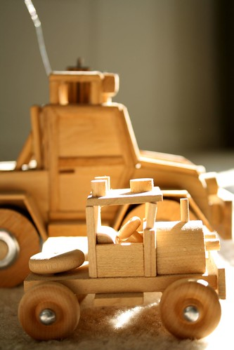 Mini Wooden Cars 2