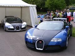 Bugatti Veyron and The V