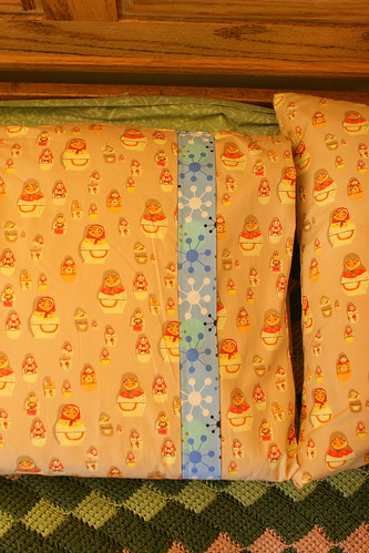 Pillowcases from Weekend Sewing