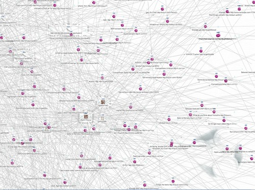 Visualization of Twitter Trend Attack