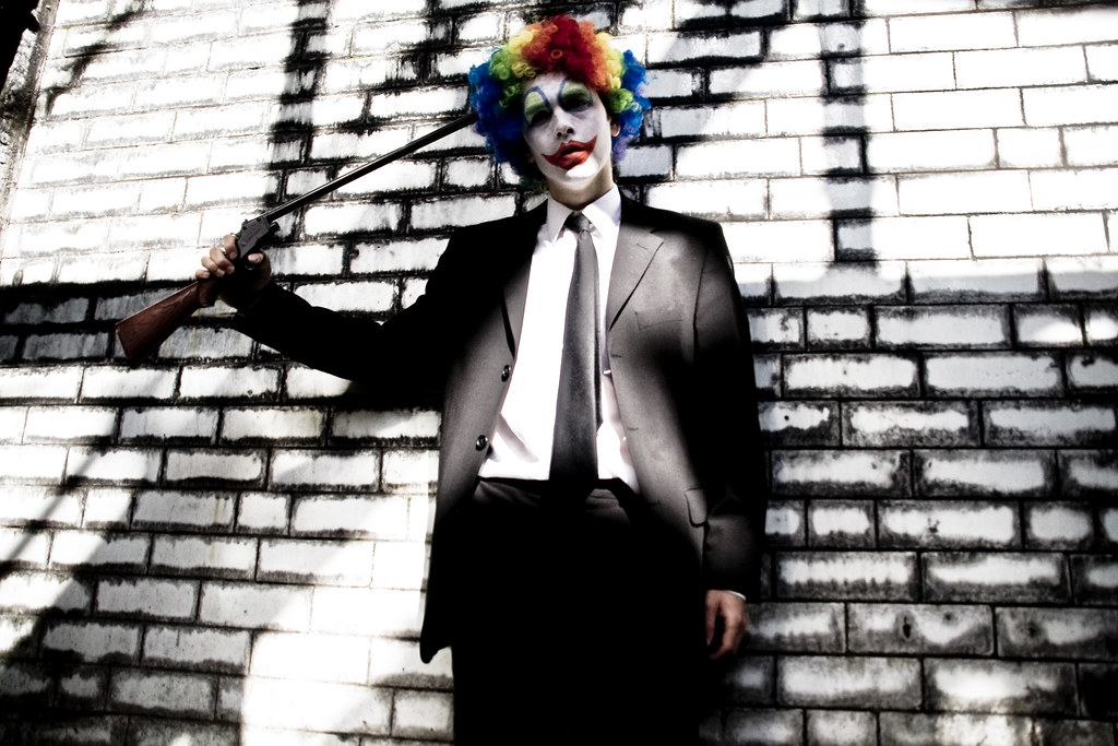 (7) Coulrophobia - Die a virgin (or phanotophobia)