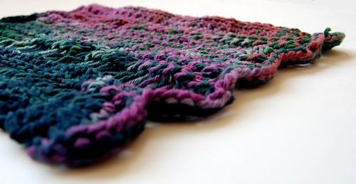 humble hand knit washcloth
