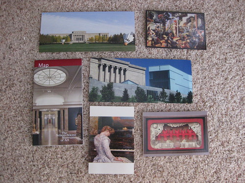 Postcards: Nelson-Atkins Museum of Art in Kansas City