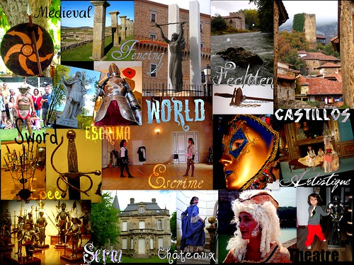 World Sword, historical, chateaux, fencing, art.