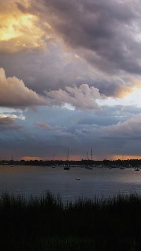 Great Kills Harbor, Staten Island at sunset