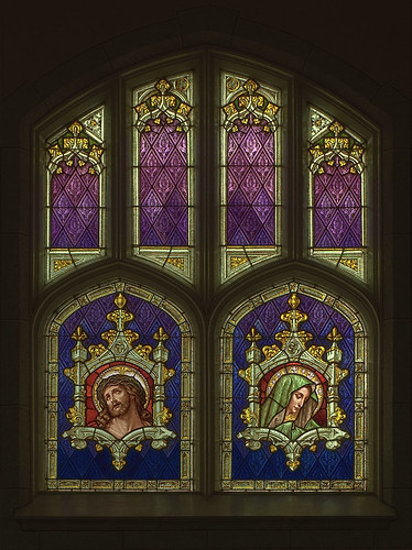 Saint Joseph Roman Catholic Church, in Freeburg, Illinois, USA - stained glass window