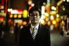 Harder, Better, Faster, Stronger (TommyOshima) Tags: leica 50mm shinjuku kodak f10 kabukicho noctilux 160vc portra salaryman m7 co1 koichiito zeissizm