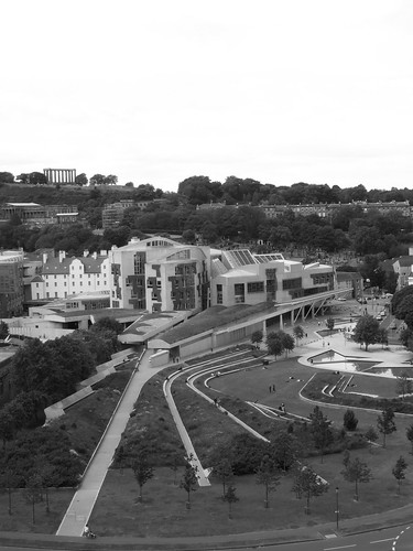 Scottish Parliament from Arthur's Seat 2